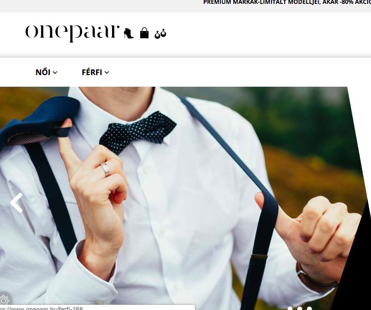 onepaar.hu webáruház